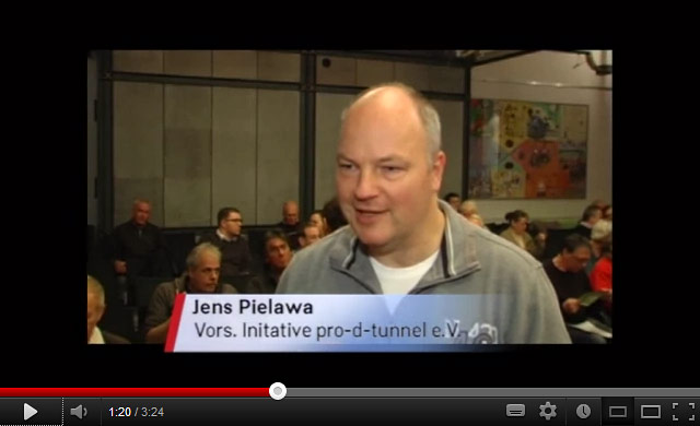Informationsveranstaltung der Initiative Pro D-Tunnel